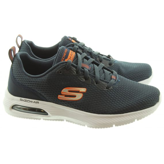 SKECHERS Mens 52556 Lace Trainers In Navy