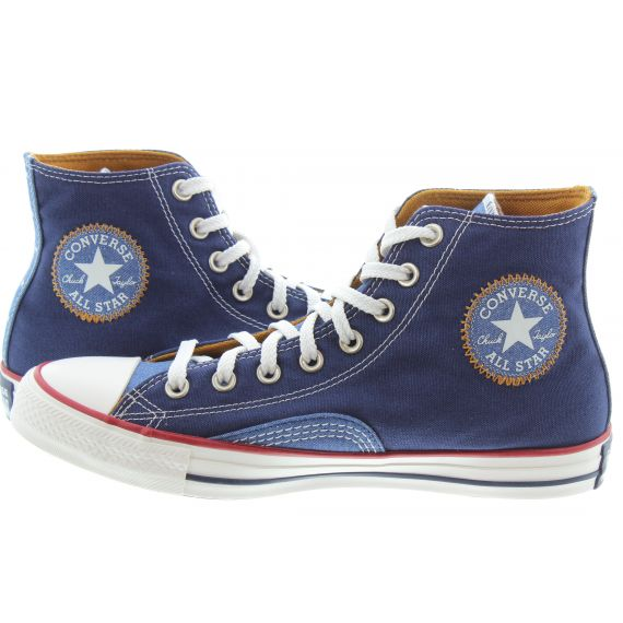 CONVERSE Mens All Star Hi Vintage Boots In Navy