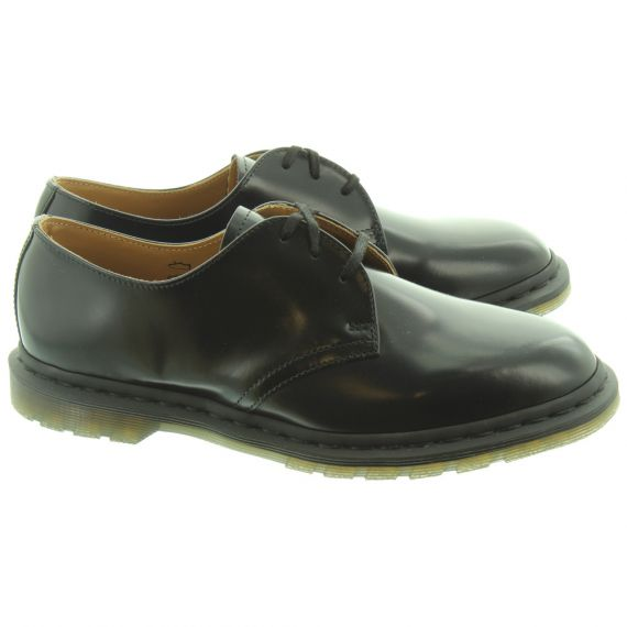 DR MARTENS Mens Archie Lace Shoes In Black