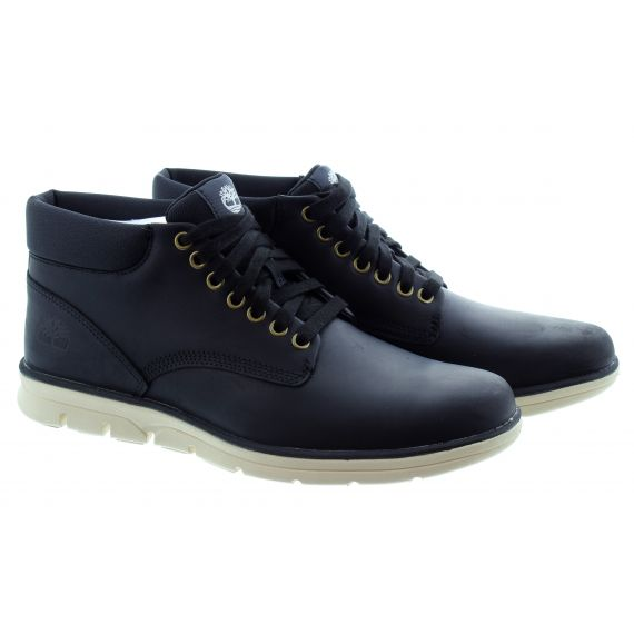 TIMBERLAND Mens Bradstreet Lace Boots In Black