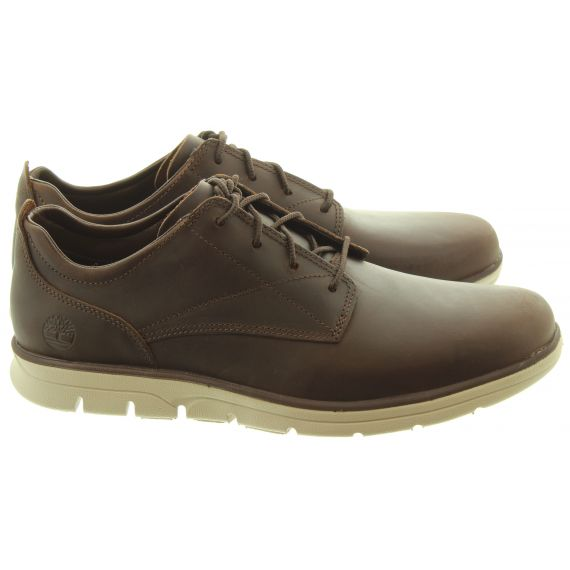 TIMBERLAND Mens Bradstreet Oxford Shoes In Dark Brown