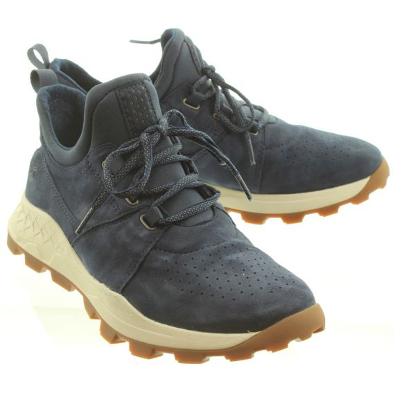 TIMBERLAND Mens Brooklyn Oxford Shoes In Navy