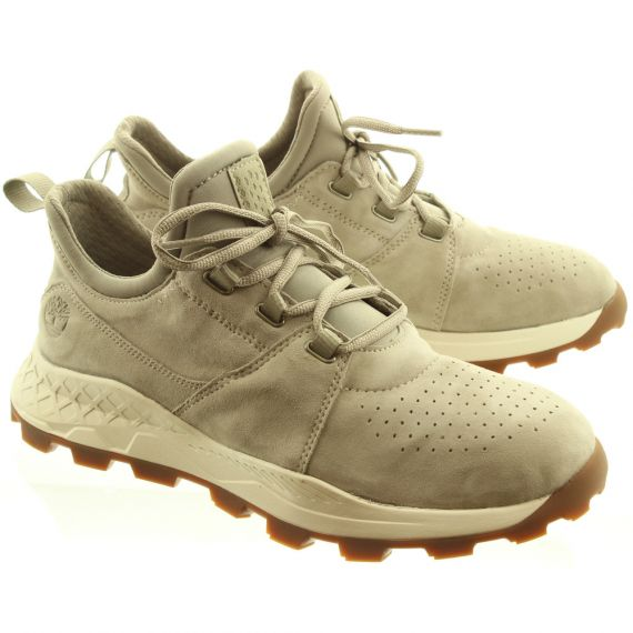 TIMBERLAND Mens Brooklyn Oxford Shoes In Taupe
