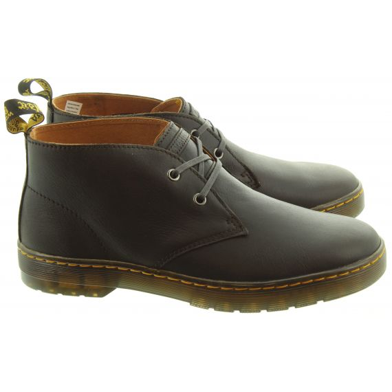 DR MARTENS Mens Cabrillo Desert Boots In Acorn Brown