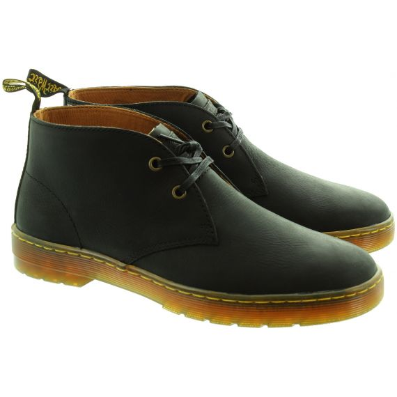 DR MARTENS Mens Cabrillo Desert Boots In Black