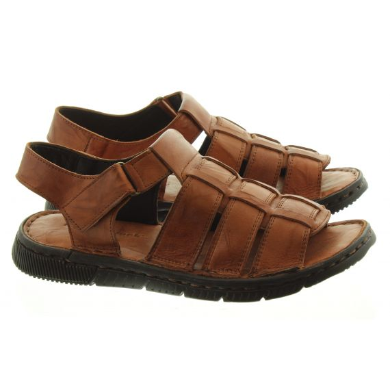 ADESSO Mens Country Jack Reggie Sandals In Tan
