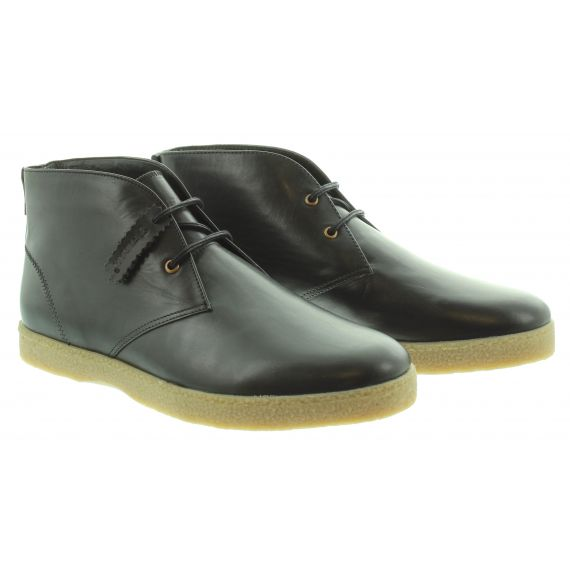 FARAH Mens Farah Jonah Lace Boot in Black