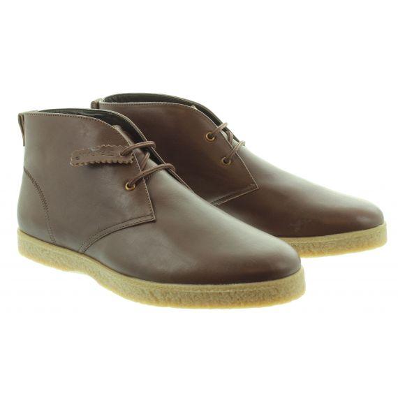 FARAH Mens Farah Jonah Lace Boot in Brown