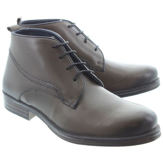 ADESSO Mens Harry Lace Boots In Charcoal