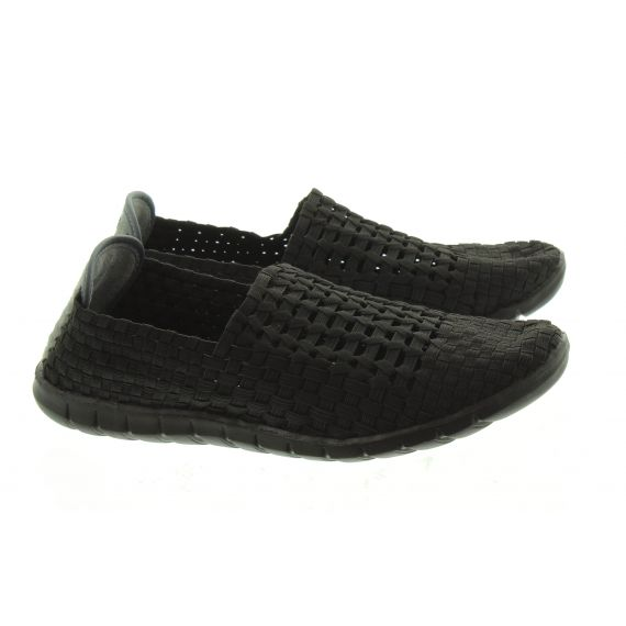 ADESSO Mens Jake Weave Shoes In Black