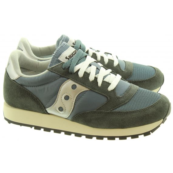 SAUCONY Adults Jazz Original Trainers In Navy And Silver