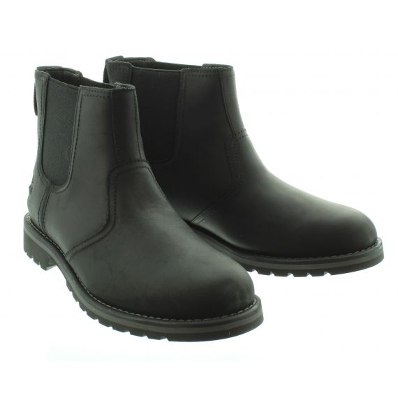 TIMBERLAND Mens Larchmont 2 Chelsea in Black