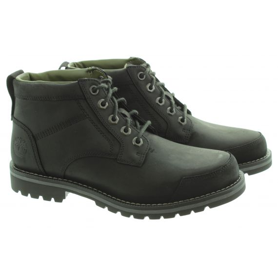 TIMBERLAND Mens Larchmont 2 Chukka Boots In Black