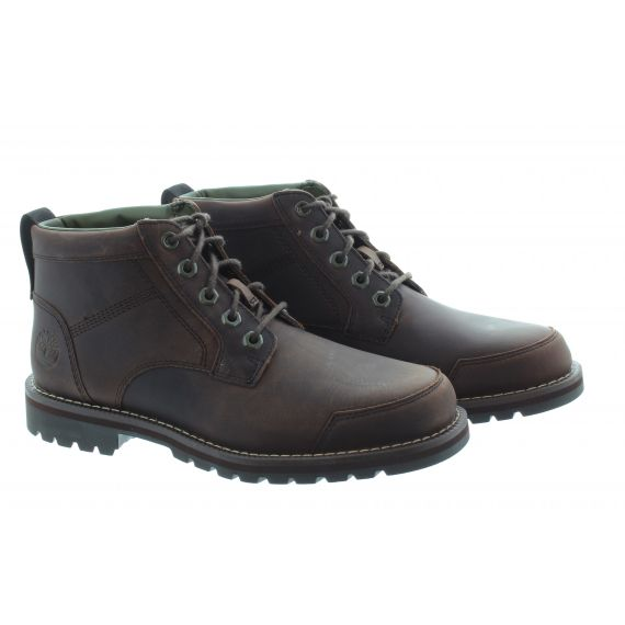 TIMBERLAND Mens Larchmont 2 Chukka Boots In Dark Brown