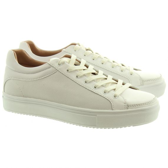 NICHOLAS DEAKINS Mens Mayweather Trainers In White