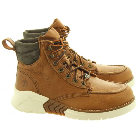 TIMBERLAND Mens M.T.C.R Moc Toe Boots In Brown