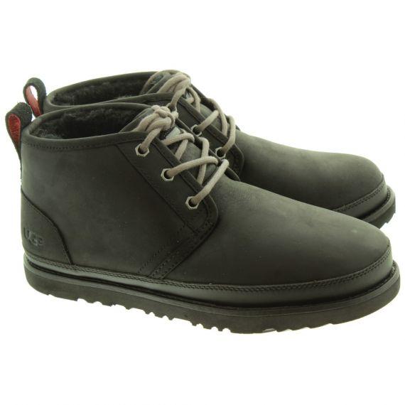 UGG Mens Neumel Waterproof Boots In Black