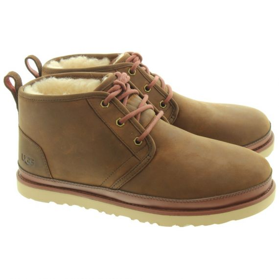 UGG Mens Neumel Waterproof Boots In Chestnut