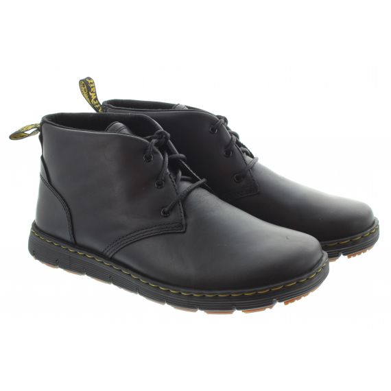 DR MARTENS Mens Rhodes Chukka Ankle Boots In Black
