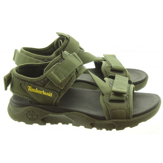 TIMBERLAND Mens Ripcord Sandals In Green