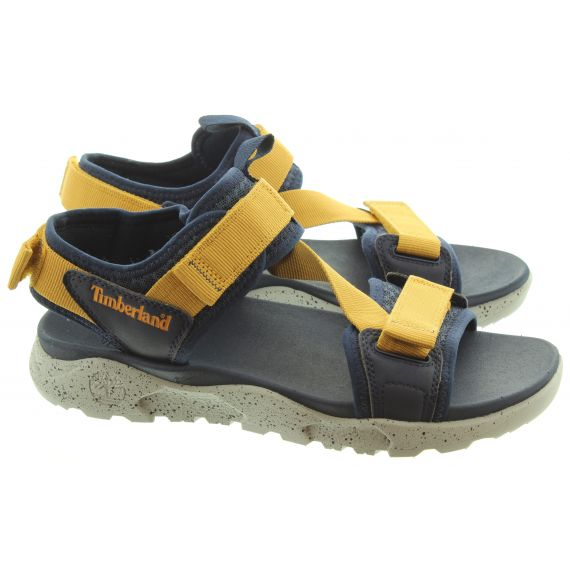 TIMBERLAND Mens Ripcord Sandals In Navy