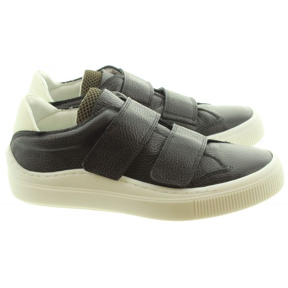 FLY Mens Sevu Velcro Trainers In Black