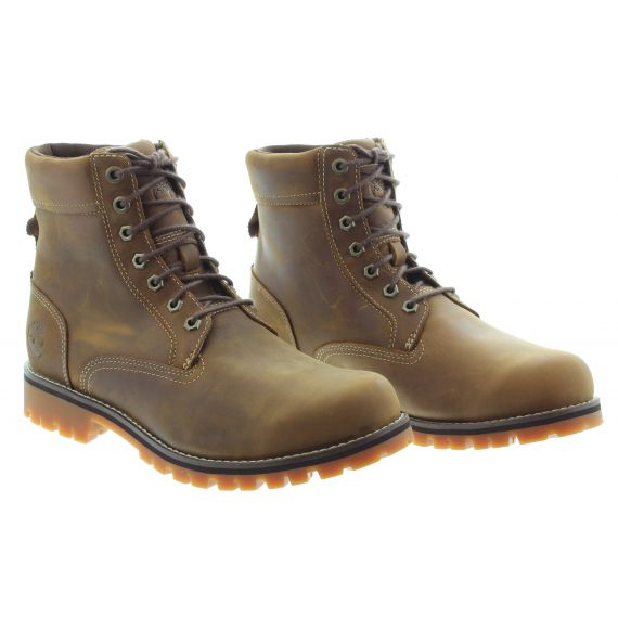 TIMBERLAND Mens Timberland Rugged WP 2 Boot in Rust