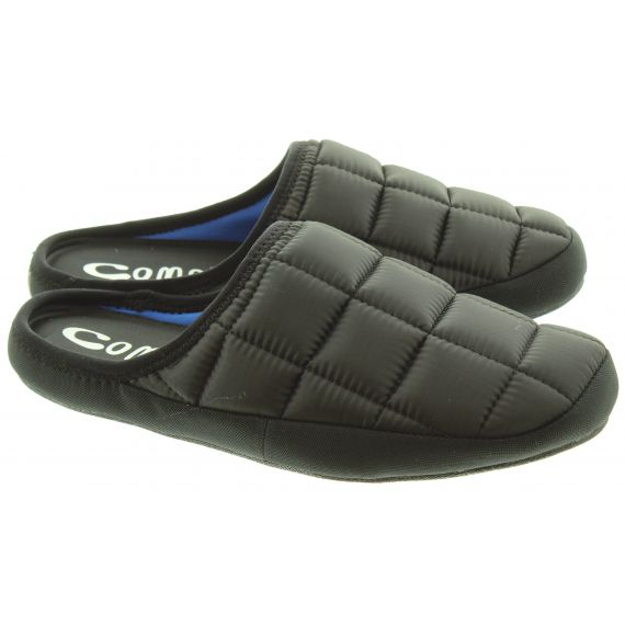 COMA_TOES Mens Tokyoes Coma Toes Slippers In Black