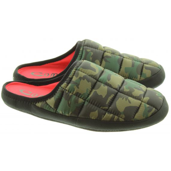 COMA_TOES Mens Tokyoes Coma Toes Slippers In Camouflage