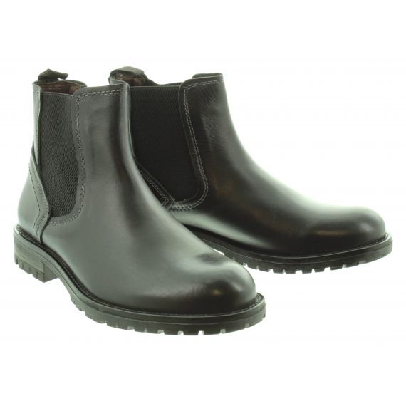COUNTRY JACK Mens Trent Chelsea Boot in Black