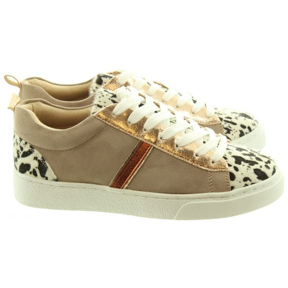 VANESSA_WU Ladies 2003 Trainers In Leopard Multi