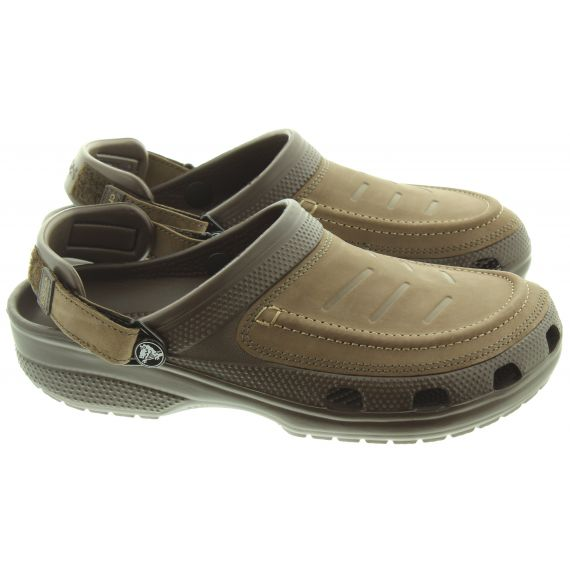 CROCS Mens Yukon Vista Sandals In Espresso