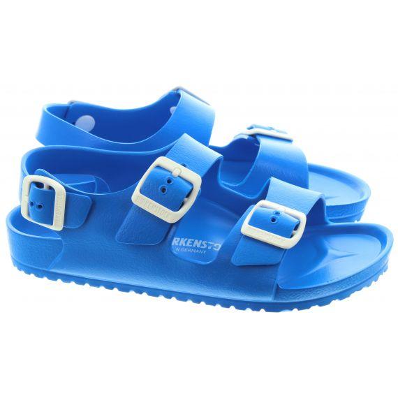 BIRKENSTOCK Milano Kids Eva Sandals In Blue