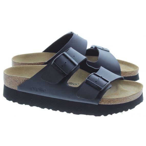 BIRKENSTOCK Ladies Platform Arizona Sandals In Black