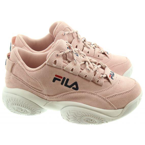 FILA Ladies Provenance Trainers In Peach