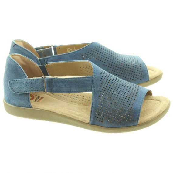 EARTH SPIRIT Ladies Redvale Sandals In Blue