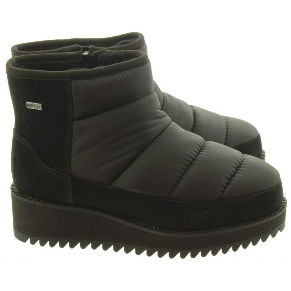 UGG Ladies Ridge Mini Ankle Boots In Black