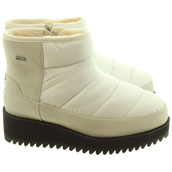 UGG Ladies Ridge Mini Ankle Boots In White