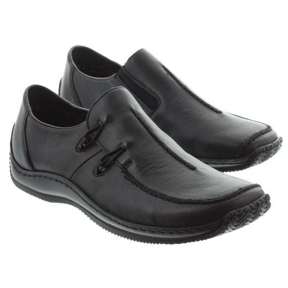 RIEKER Rieker 1751 Flat Loafer in Black