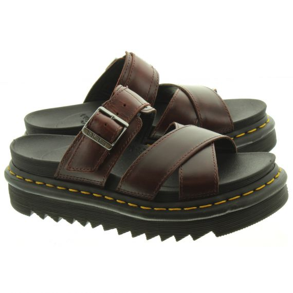 DR MARTENS Ryker Mules In Brown