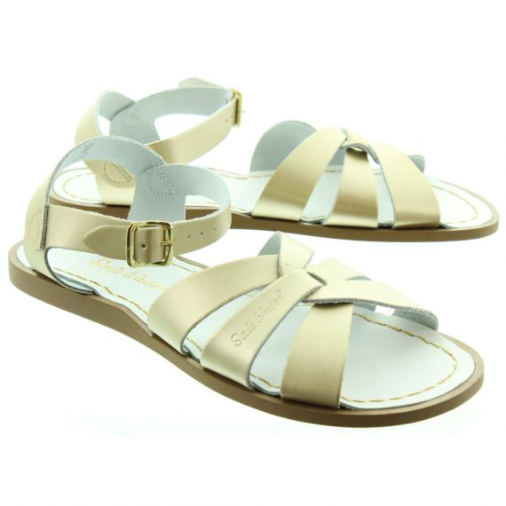 SALT WATER Salt Water Adult Sandals in Gold