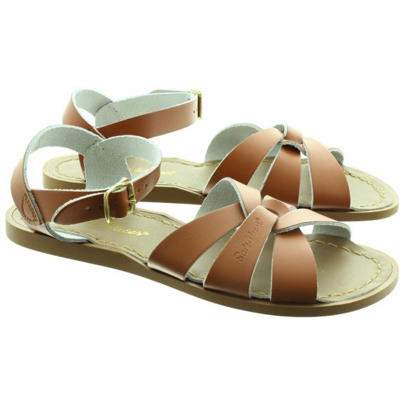 SALT WATER Salt Water Adult Sandals in Tan