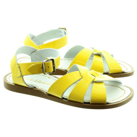 SALT WATER Salt Water Kids In Yellow Patent