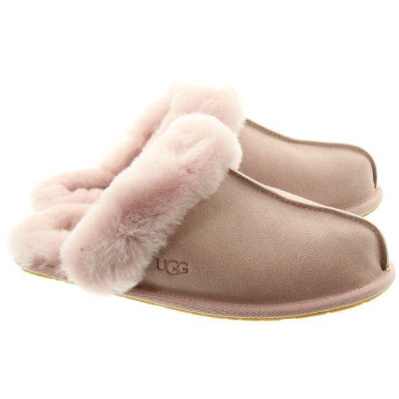 UGG Scuffette Sheepskin Slipper In Pink Crystal