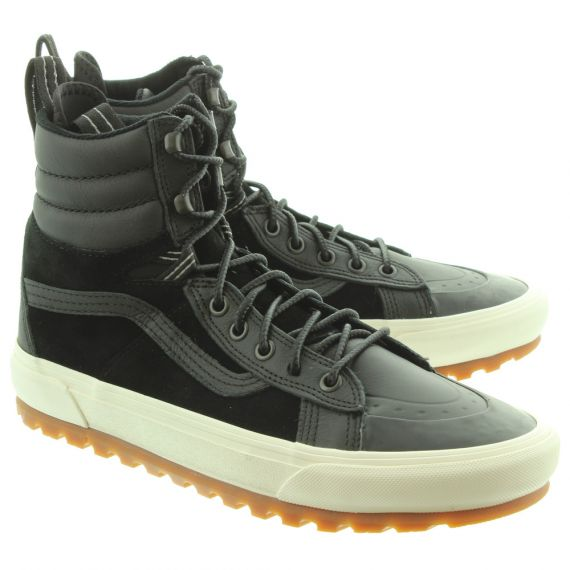 VANS Mens SK8-HI MTE DX Boots In Black