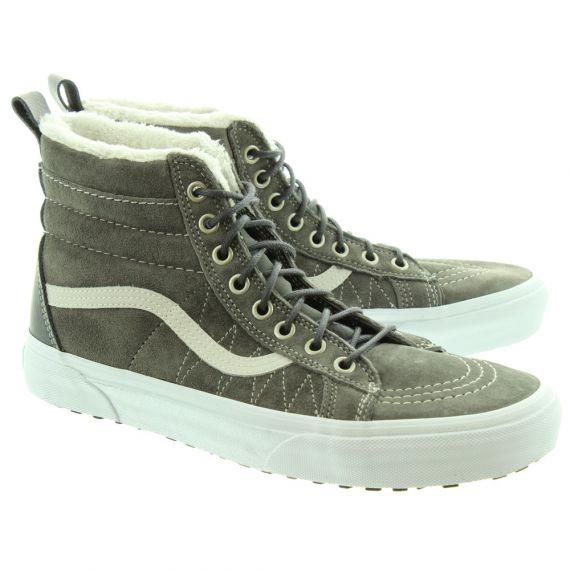 VANS Mens SK8-Hi MTE Warm Boots In Pewter
