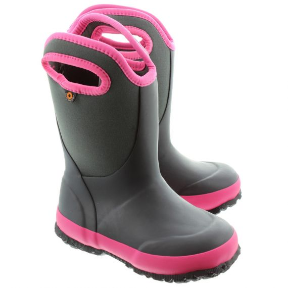 BOGS Kids Bogs Slushie Wellies In Grey