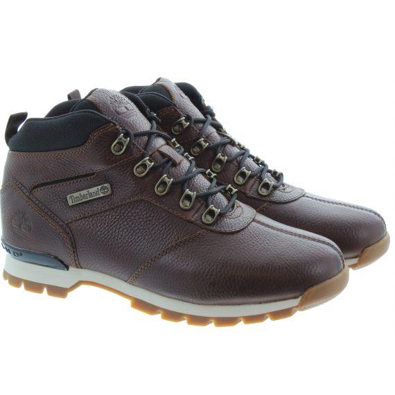 TIMBERLAND Splitrock 2 Mens Hiker Boots In Dark Brown