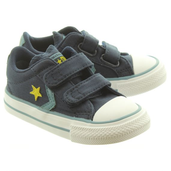 CONVERSE Starplayer 2 Velcro Shoes In Navy