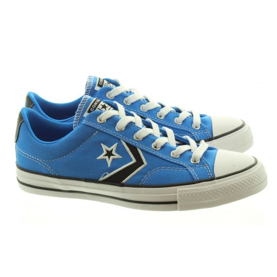 CONVERSE Star Player Ox Lace Shoes In Blue